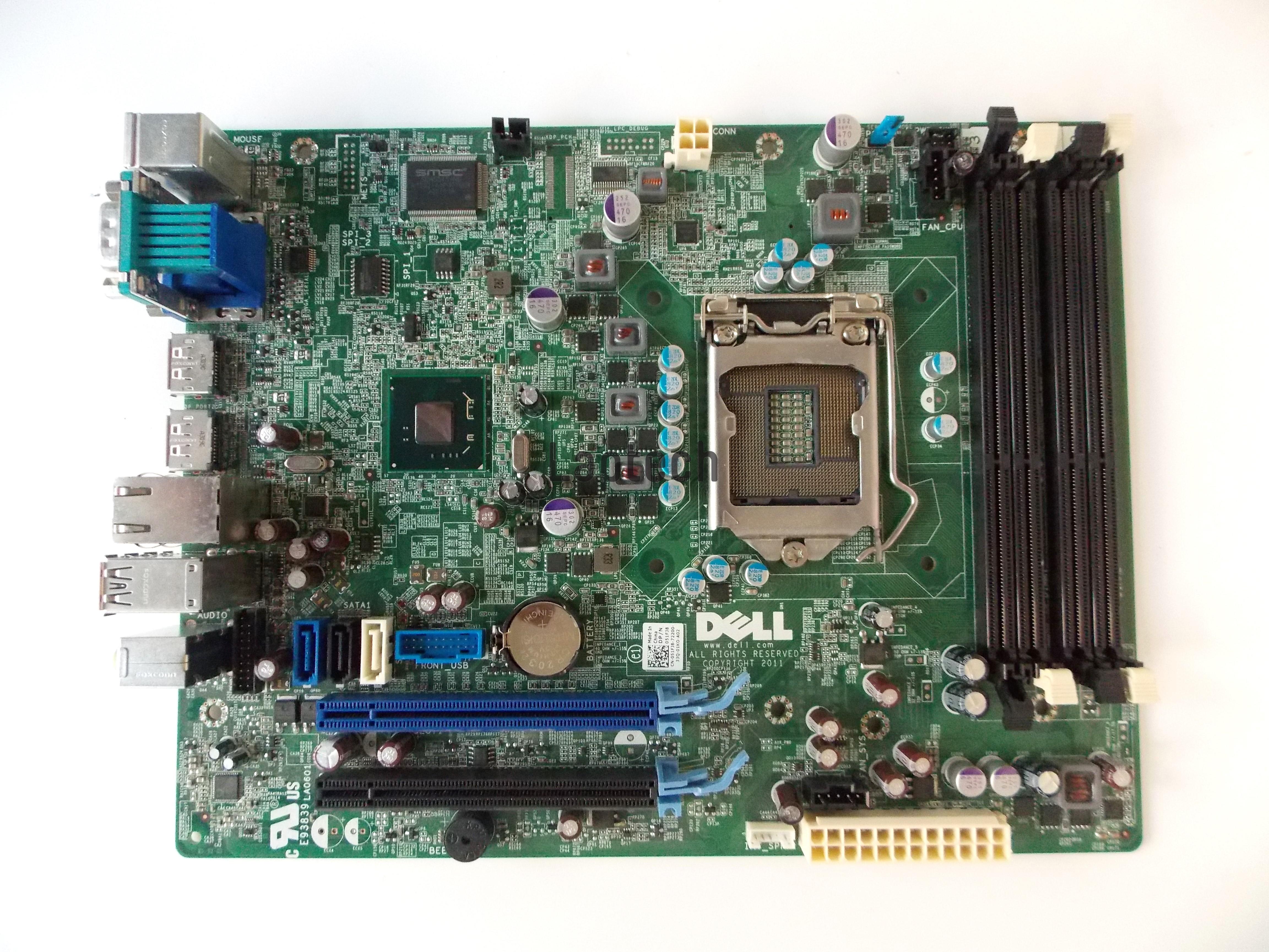 Dell Optiplex 9010 SFF system Motherboard K2V4W F3KHR 51FJ8 0M04X 0K2V4W  0F3KHR 051FJ8 00M04X WR7PY GXM1W